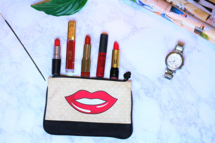 5 Holy Grail Red Lippies