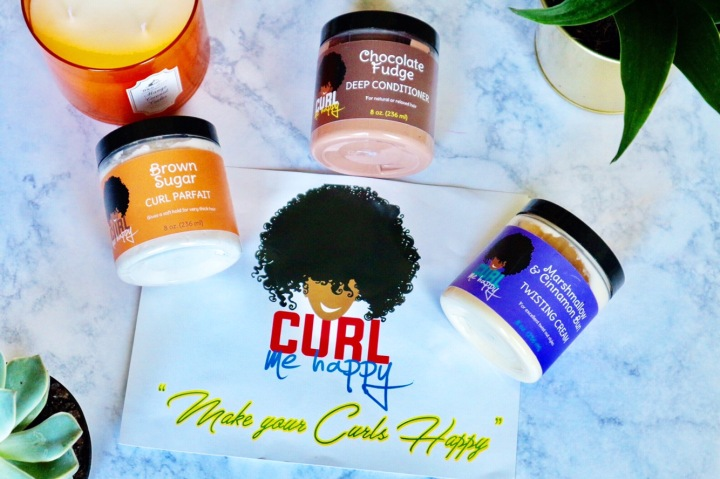 Product Review: Curl Me Happy HairCare