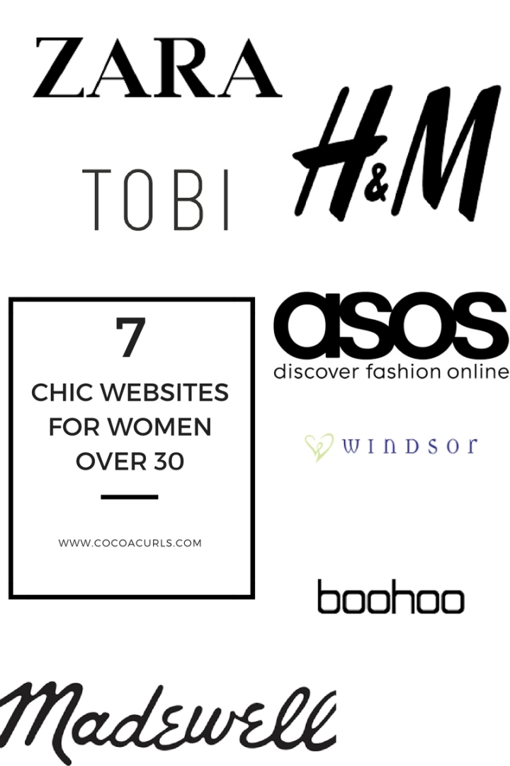 7 Chic Shopping Sites for Women over30