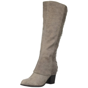 Fergalicious-Womens-tootsie-Suede-Almond-Toe-Knee-High-Fashion-Boots
